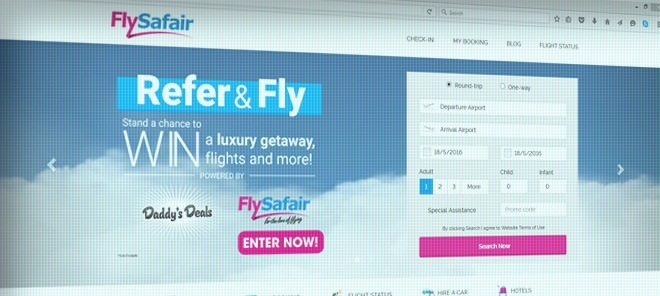 FlySafair.co.za Review