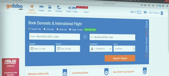 Goibibo.com Review
