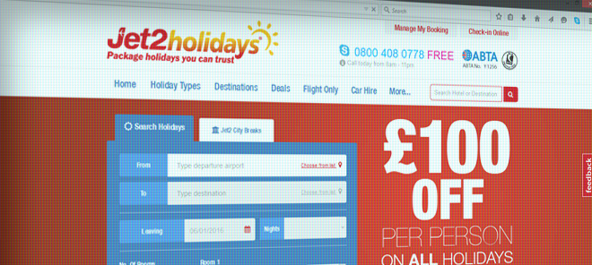 Jet2Holidays.com Review