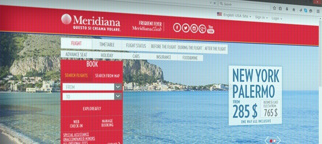 Meridiana.it Review