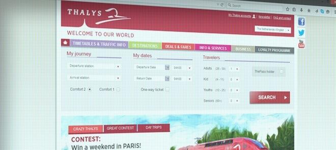 Thalys.com NL Review
