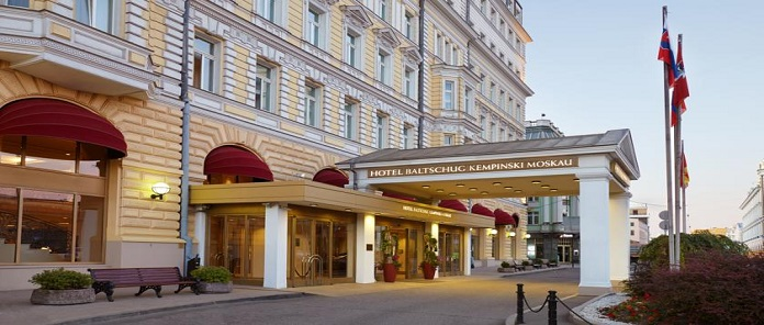 Hotel Baltschug Kempinski Moscow Review
