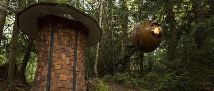 Free Spirit Spheres, Vancouver Island, Canada