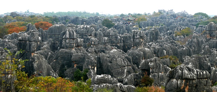 The Stone Forest of China